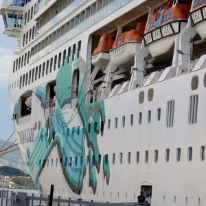 Norwegian Jade ship