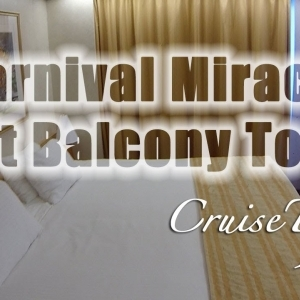 Carnival Miracle Aft Extended Balcony Tour