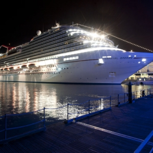 Carnival Breeze in Venice 1