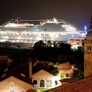 Carnival Breeze in Venice 2