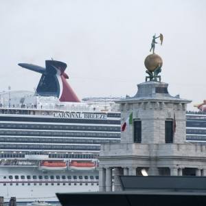 Carnival Breeze in Venice 4