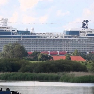 Celebrity Silhouette: Traveling Down the River Ems